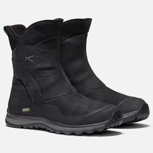 KEEN Winterterra Size 10 Black Waterproof Boots